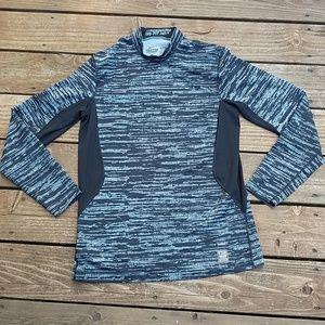 Nike Pro Combat Dri Fit Long Sleeve Slim Fit Shirt